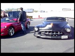 Exotic Cars Lined Up TRAFFIC 2008